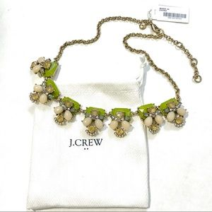 NWT J.Crew Factory Perched Clusters Necklace